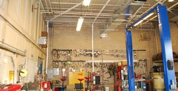 Trusted vendor for auto repair shop exhaust ventilation solutions